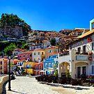 Parga Town & Castle Greece by Paul Thompson Photography