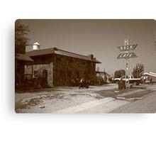 Route 66 - Rock Cafe Canvas Print