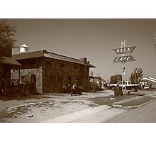Route 66 - Rock Cafe Photographic Print