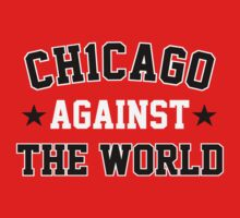 """VICTRS """"Ch1cago Against The World"""" T-Shirt"""