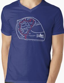 BTG On The Brain! (OUTLINE) Mens V-Neck T-Shirt