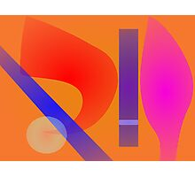 Exclamation Mark Photographic Print