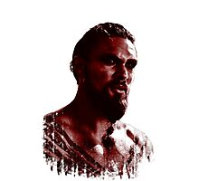 Blood Covered Drogo Photographic Print