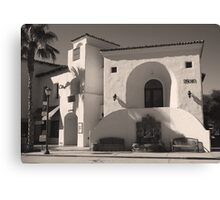 Old Town Canvas Print