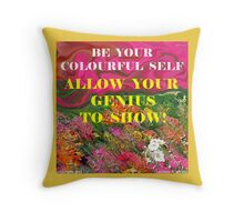 EXPERIENCE YOUR DREAMS Throw Pillow