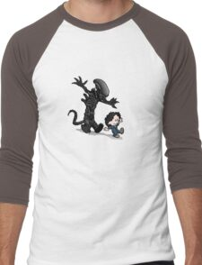 Ripley and alien Men's Baseball ¾ T-Shirt