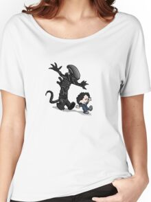 Ripley and alien Women's Relaxed Fit T-Shirt
