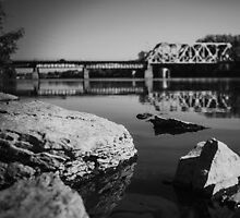 BW Mississippi River Bridge by fullthrottleceo