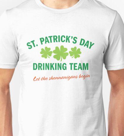 Drinking Unisex T-Shirt