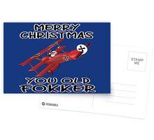 Funny Christmas Postcards