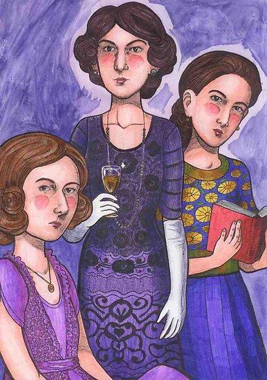Sisters by Cloverswine