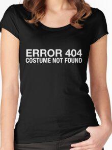 Error 404 Women's Fitted Scoop T-Shirt