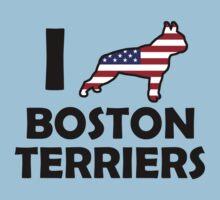 I ♥ Boston Terriers by jmirvish