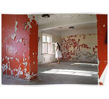 In the abandoned asylum Poster