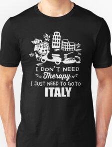 Italy Therapy Unisex T-Shirt