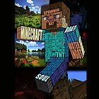 Minecraft Steve Typograpghy by dvdan