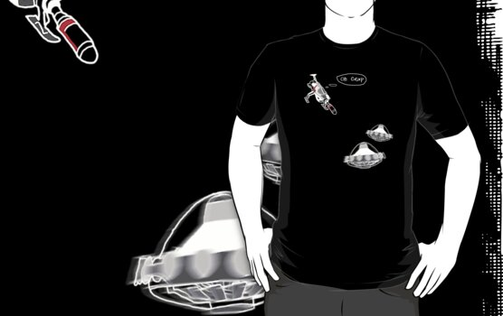 UFO Interceptor - T Shirt by BlueShift