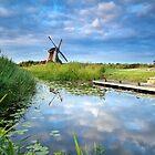 Charming windmill by Olha Rohulya