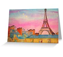 Paris Christmas Greeting Card