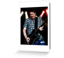Jonny Lang Blues Guitarist Greeting Card