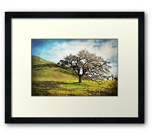 Kiss the Earth Framed Print