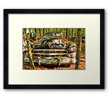 Cadillac with Attitude Framed Print