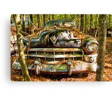 Cadillac with Attitude Canvas Print