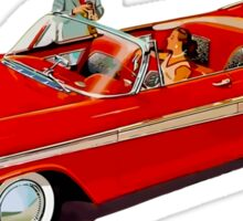 1957 Plymouth Belvedere Convertible Coupe Sticker