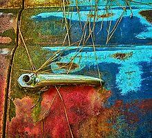 Antique Truck Door and Handle by Mike Koenig
