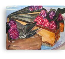 Parisian Pastry Canvas Print
