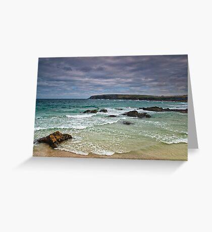 Lewis: Ness Beach Greeting Card