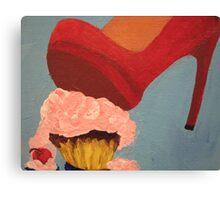 Pop Art - Cupcake Smash Canvas Print