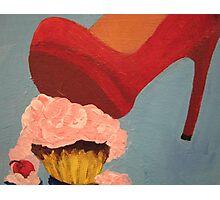 Pop Art - Cupcake Smash Photographic Print