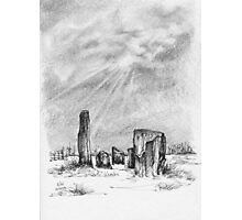 Kealkil Stone Circle Photographic Print