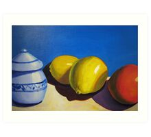 Lemons and Oranges Art Print