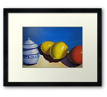Lemons and Oranges Framed Print