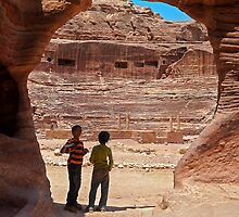 The Theatre Petra2. by bulljup