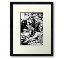 IT came from Citrusville! Framed Print
