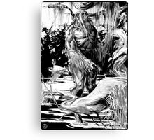 IT came from Citrusville! Canvas Print