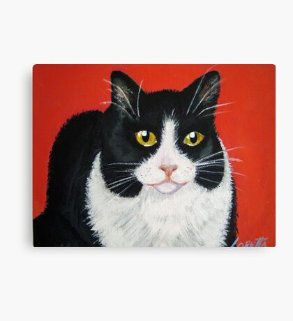 Mixie my Muse Canvas Print