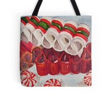 Ribbon Candy Red Tote Bag