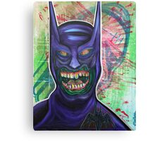 Zombie Batman Canvas Print
