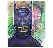 Zombie Batman Poster