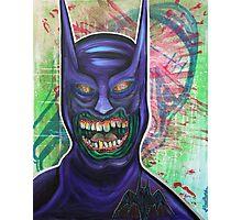 Zombie Batman Photographic Print