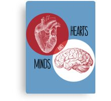 Hearts and Minds Canvas Print