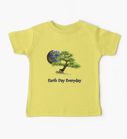 Earth Day Everyday Baby Tee