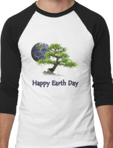 Happy Earth Day Men's Baseball ¾ T-Shirt