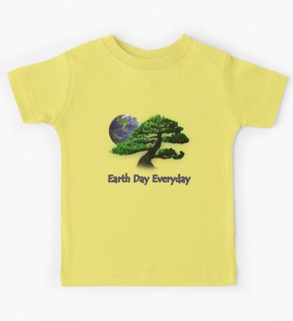 Earth Day Everyday Kids Tee