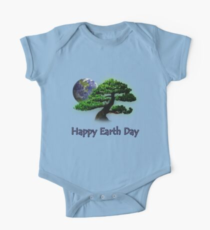Happy Earth Day One Piece - Short Sleeve