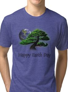 Happy Earth Day Tri-blend T-Shirt